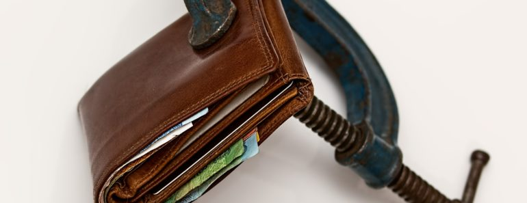 Credit squeeze with a locked wallet