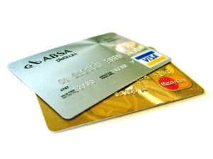 Two credit cards
