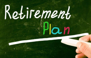 Retirement plan concept