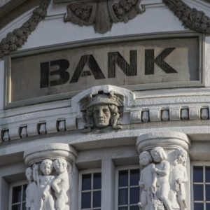 A traditional bank