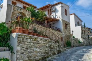 A traditional Cypriot house