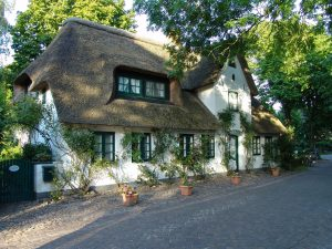 A desirable thatched cottage