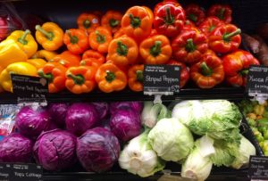Supermarket fresh produce