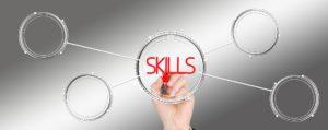 Skills and training concept