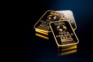 Fine gold ingots