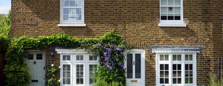Pleasant terraced houses
