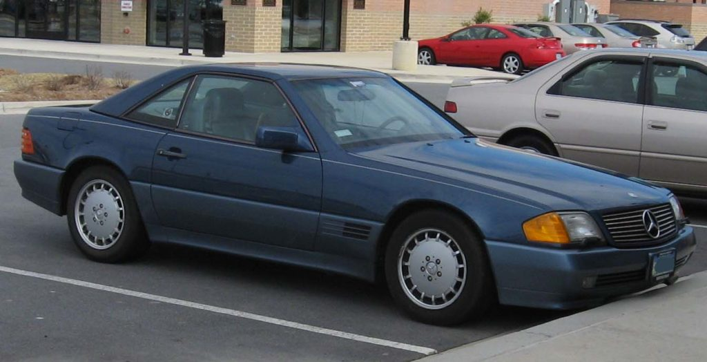Mercedes Benz SL, 1989