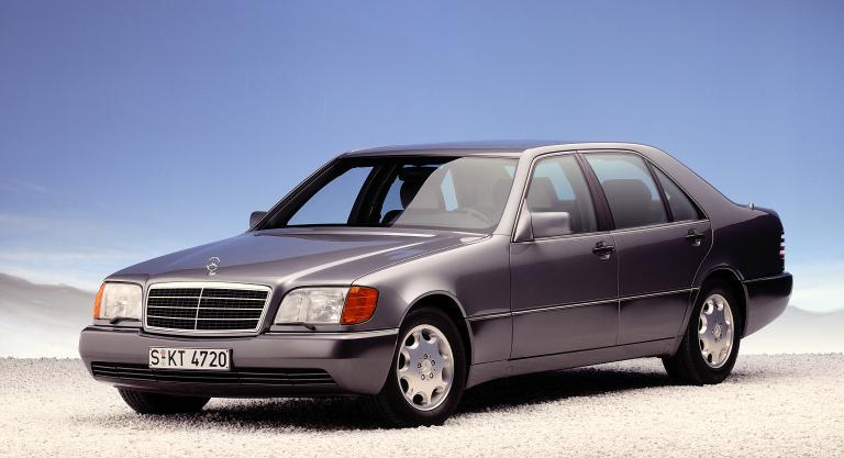 Mercedes-Benz W140, 1991