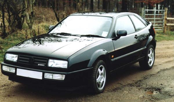 Volkswagen Corrado VR6, 1992