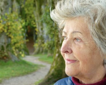 A woman approaching pension age