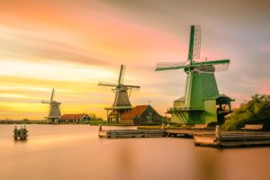Windmills in Holland