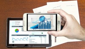 Business analysis using mobile devices