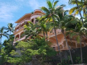 An expensive property in the tropics