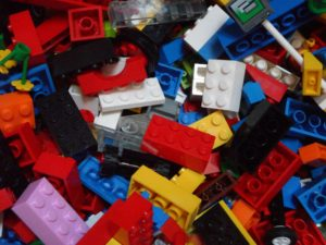 Old lego clutter