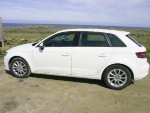 An Audi A3 car