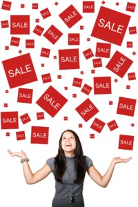 Impulse buying during sales promotions