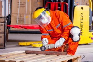 Safety in an industrial workplace