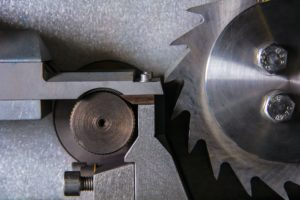 gears on Industrial equipment