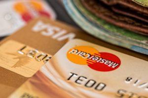 Mastercard and Visa credit cards
