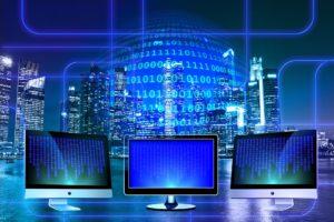 Computer monitors and data analysis