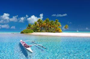 A stunning Polynesian island