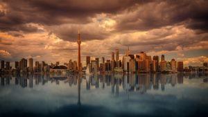 A Toronto cityscape