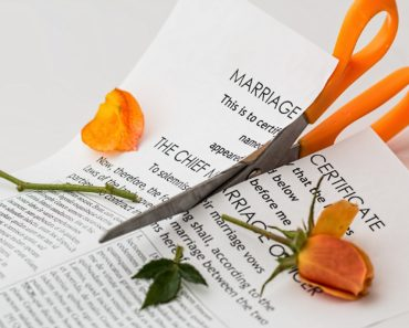 A divorce concept