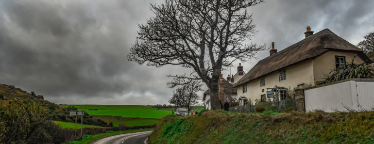 A pretty cottage in the UK