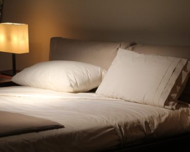 A double bed