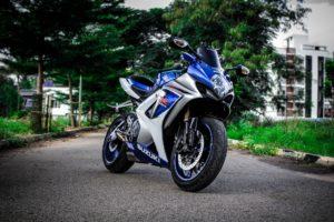 A Suzuki motorbike