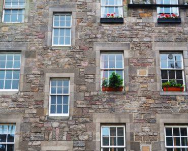 Traditional flats in Edinburgh