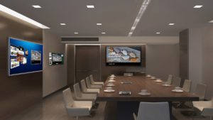 A modern conference room