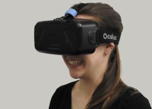 Using an Oculus VR headset